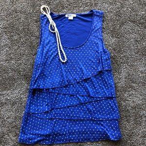 Liz Claiborne layered top Size XL